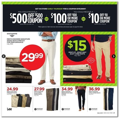 Jcpenney Coupon Giveaway November 2017 - jcpenney black friday ad 2017 check out the hot jcpenney black friday deals