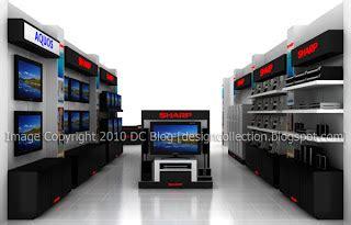 Tv Sharp Bonito design collection sharp display design electronics stores