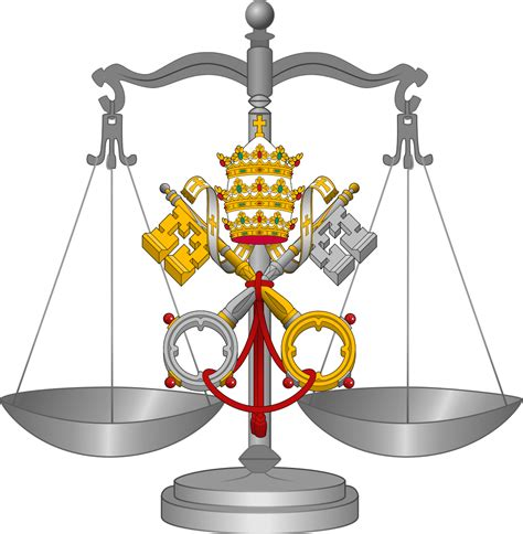 File:Scale of justice, canon law.svg - Wikimedia Commons Law Scale Of Justice