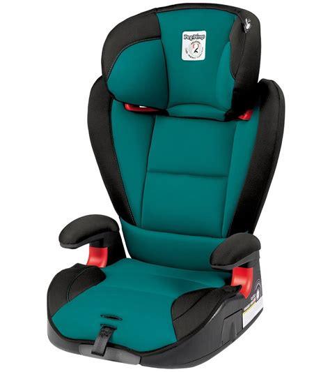 booster seat with backrest peg perego hbb 120 high back booster car seat aquamarine