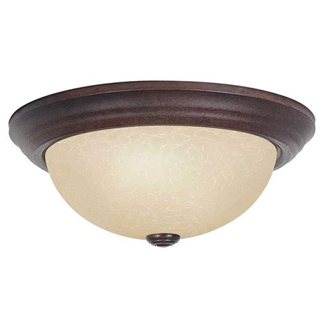 Transglobe Old World 3 Light Silver Indoor Flush Mount