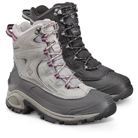 columbia s snow boots columbia s bugaboot ii lace up insulated waterproof