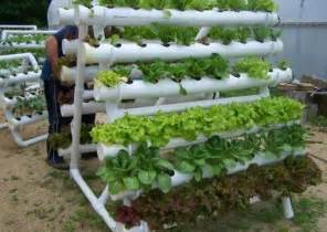Vertical Hydroponic Gardening Systems How To Diy Pvc Pipes Hydroponic Garden System