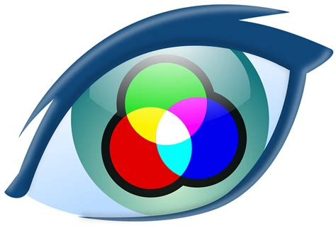seeing as color eye seeing view 183 free vector graphic on pixabay