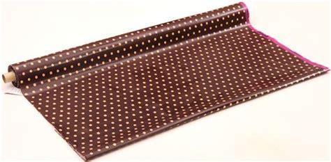 Canvas Laminating Polka Sedang brown echino laminate canvas fabric with beige polka dots laminates fabric shop modes4u