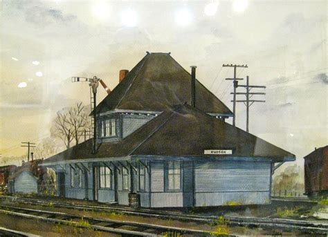 hudson wisconsin railroad depot david allen