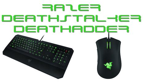 Mouse Dan Keyboard Razer razer deathstalker and deathadder 2013 gaming keyboard and mouse
