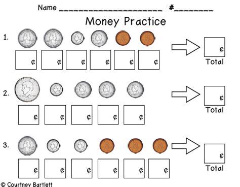 worksheets money grade homeshealth info