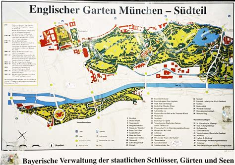 Englischer Garten Munich Map by 1000 Images About Munich On Munich Germany