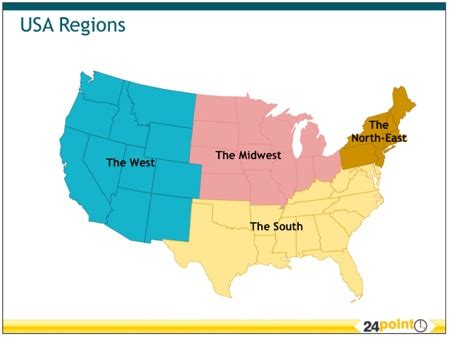 sections of usa the four sections of the united states homeschool