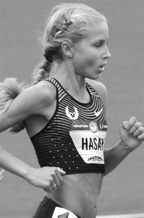 Central Coast native Jordan Hasay finishes third in Boston