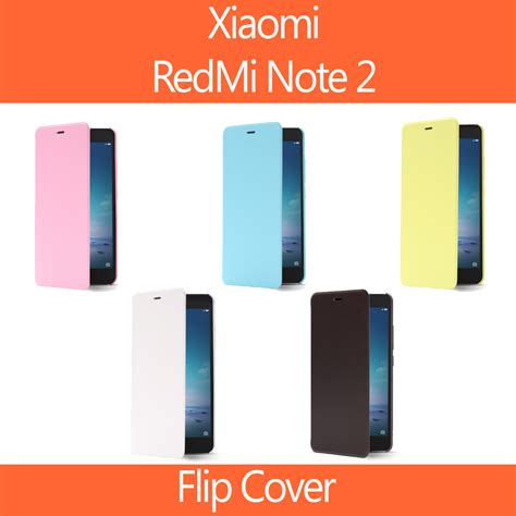 Xiaomi Redmi Note 2 Note2 Flip Cover Model Original F T1310 4 xiaomi redmi note 2 flip cover xiaomi