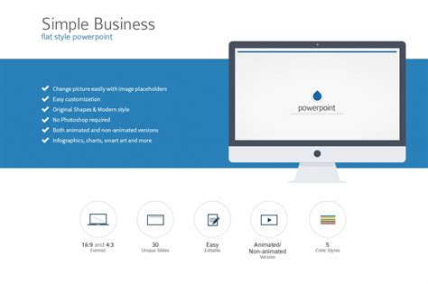 simple business powerpoint templates 15 minimal powerpoint templates design shack