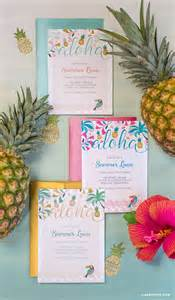 luau colors luau invitations lia griffith