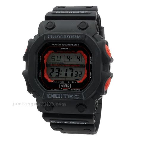 Digitec 2012 Original harga sarap jam tangan digitec dg 2012t black