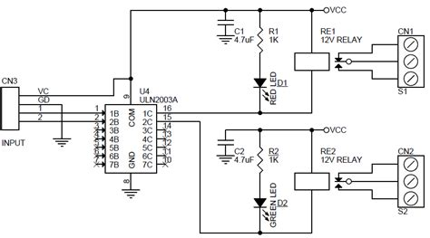 reed relay wiring diagram reed wiring diagram images