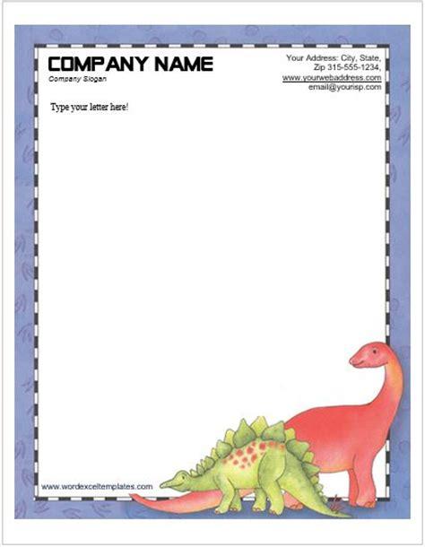 animal design letterhead templates  ms word word excel templates