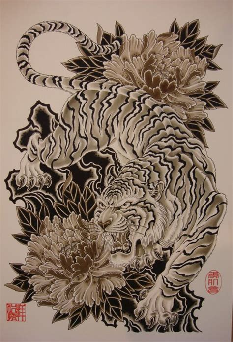 japanese style tiger tattoo designs 25 best ideas about japanese tiger on