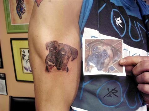 boxer dog tattoo tattoos and designs page 149