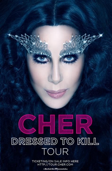 cher concert tour 2014 cher dressed to kill tour dates