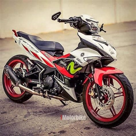 Cover Set Y15zr y15zr cover set exciter merah putih ori yamaha sticker drs fairings work
