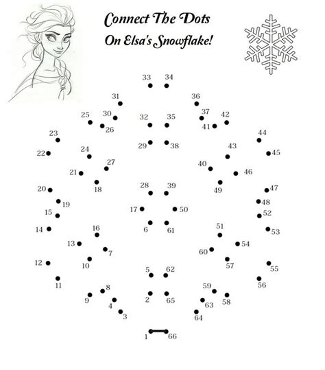printable frozen dot to dot frozen connect the dots disney games activity pinterest