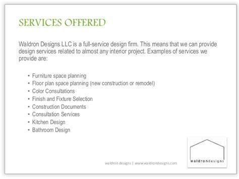 Introduction Letter Interior Design Introduction To Interior Design Services
