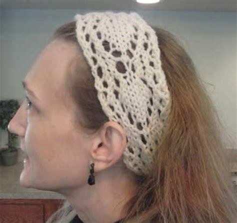 knit lace headband pattern how to knit a headband 29 free patterns guide patterns