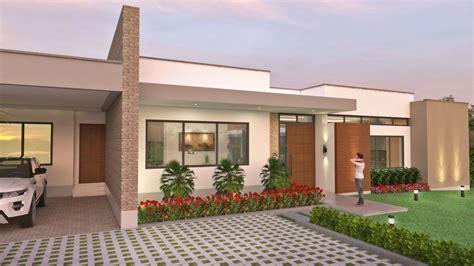 fachadas de casas de un piso fachadas de casas en un piso planos de casas modernas