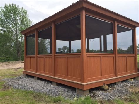 screen gazebo gazebo screen room enclosure rectangle gazebo screen room