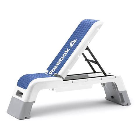 reebok bench step reebok womens training deck