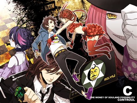 C Anime by C The Money Of Soul And Possibility Wallpapers