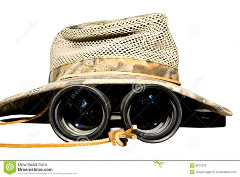 safari binoculars clipart safari hat and binoculars royalty free stock images