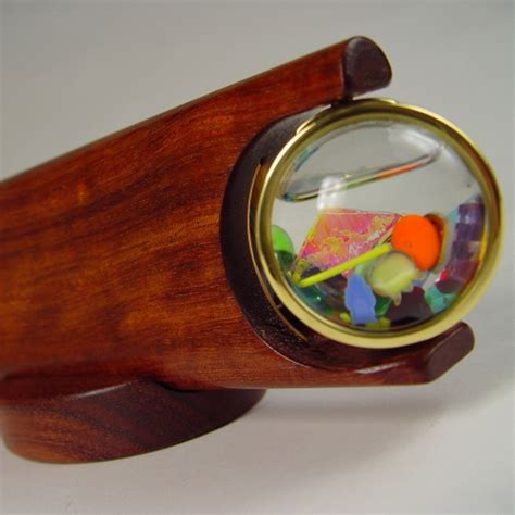 Handmade Kaleidoscopes - brass wooden kaleidoscopes for sale henry bergeson