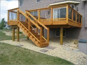 raised deck plans elevated wood deck plans elevated concrete deck plans