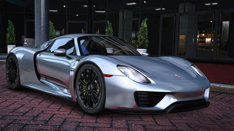 Porsche 918s by 2015 Porsche 918 Spyder Weissach Kit Add On Real