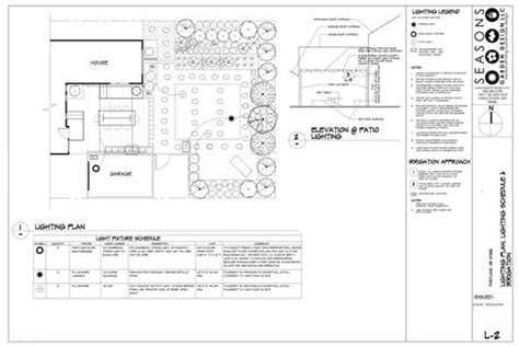 landscape lighting plans lighting plan sle pictures to pin on pinsdaddy