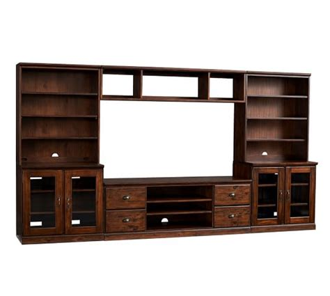 pottery barn tv cabinet printer s large tv stand suite pottery barn