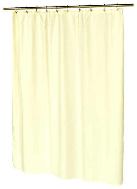 traditional shower curtains carnation home fashions bathroom waffle weave polyester