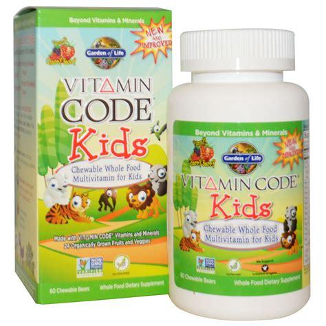 Multi Vitamins Children Green World Multivitamin Green World garden of vitamin code chewable whole food multivitamin for cherry berry 60