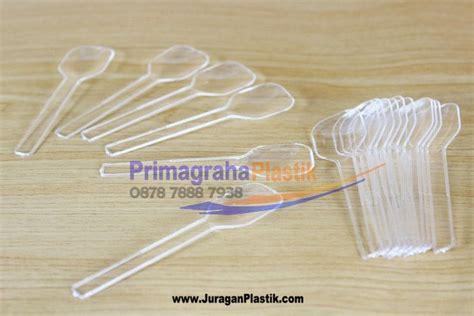 Sendok Plastik Kecil Pink Sekop sendok sekop kecil puding home