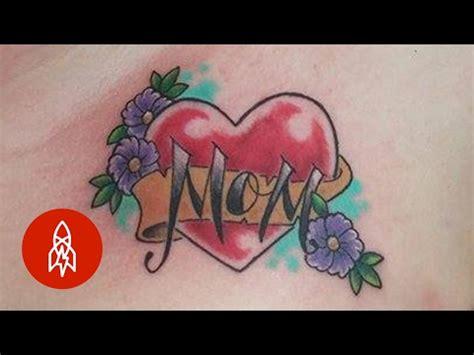 tattoo love u mom the heartfelt history of the i love mom tattoo youtube