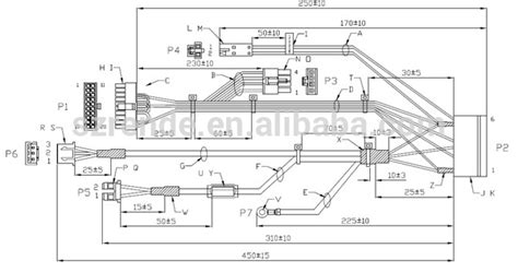 cable harness drawing wiring harness wiring diagrams