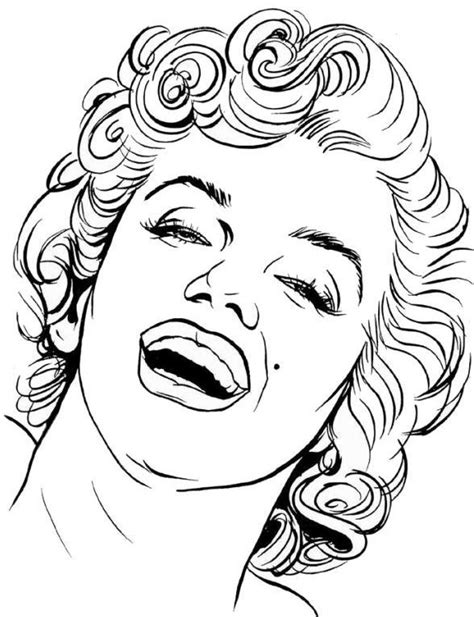 Dope Marilyn Monroe Coloring Pages Coloring Pages Marilyn Coloring Pages