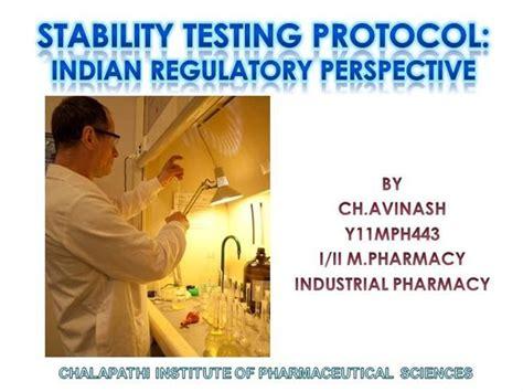 stability study protocol template stability testing protocol authorstream