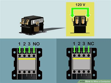 mcg contactor wiring diagram contactor operation diagram