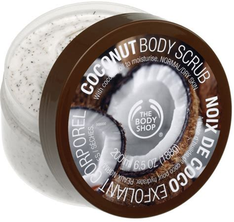 Scrub The Shop the shop coconut scrub reviews beautyheaven
