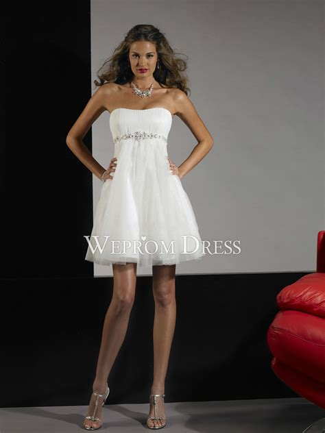 cocktail dress for bride malaysia short white strapless dresses cocktail dresses 2016