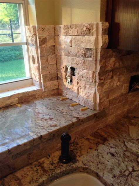 How To Install A Tile Backsplash In Kitchen help stacked stone corners