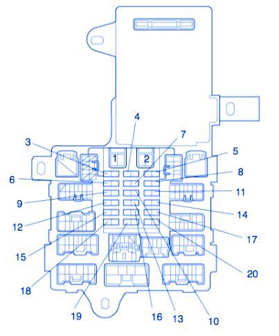 lexus   fuse boxblock circuit breaker diagram